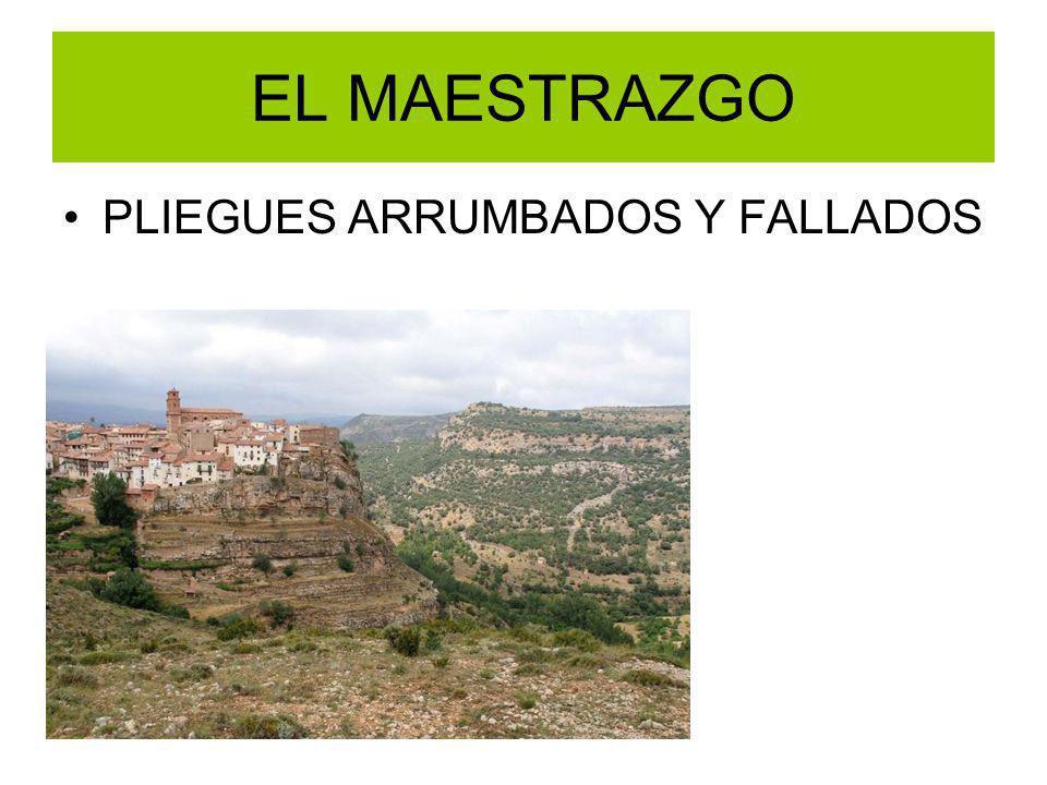 EL MAESTRAZGO PLIEGUES ARRUMBADOS Y FALLADOS