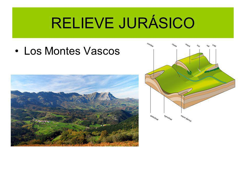 RELIEVE JURÁSICO Los Montes Vascos