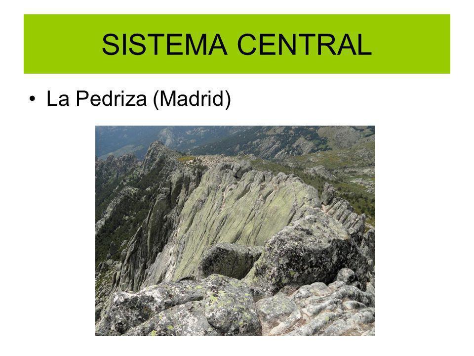 SISTEMA CENTRAL La Pedriza (Madrid)