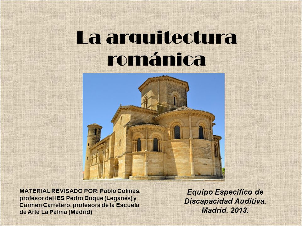 La arquitectura rom nica ppt video online descargar for Arquitectura romanica caracteristicas
