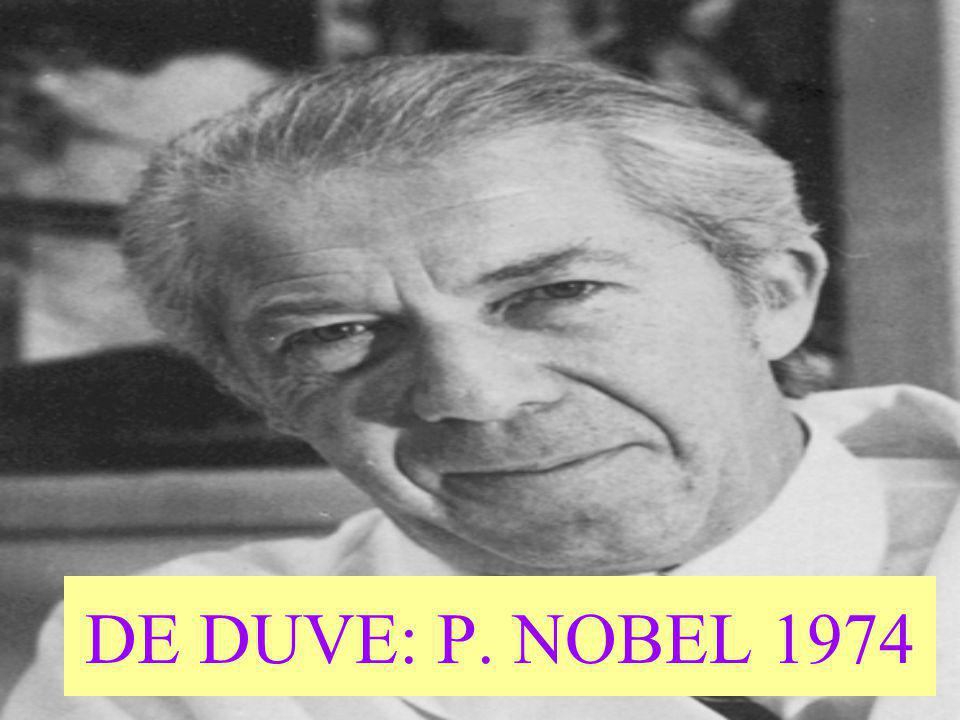 DE DUVE: P. NOBEL 1974