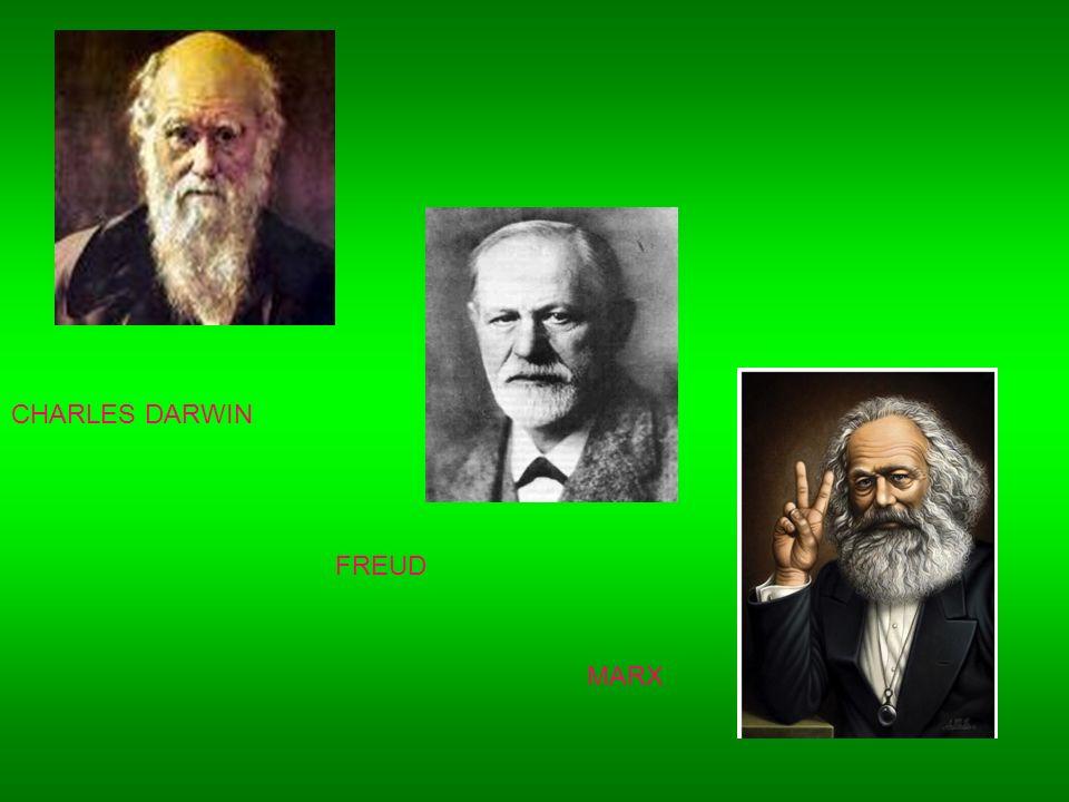 CHARLES DARWIN FREUD MARX