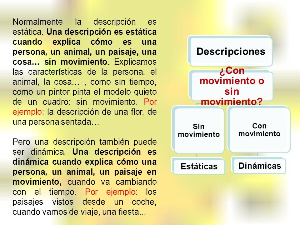 ¿Con movimiento o sin movimiento