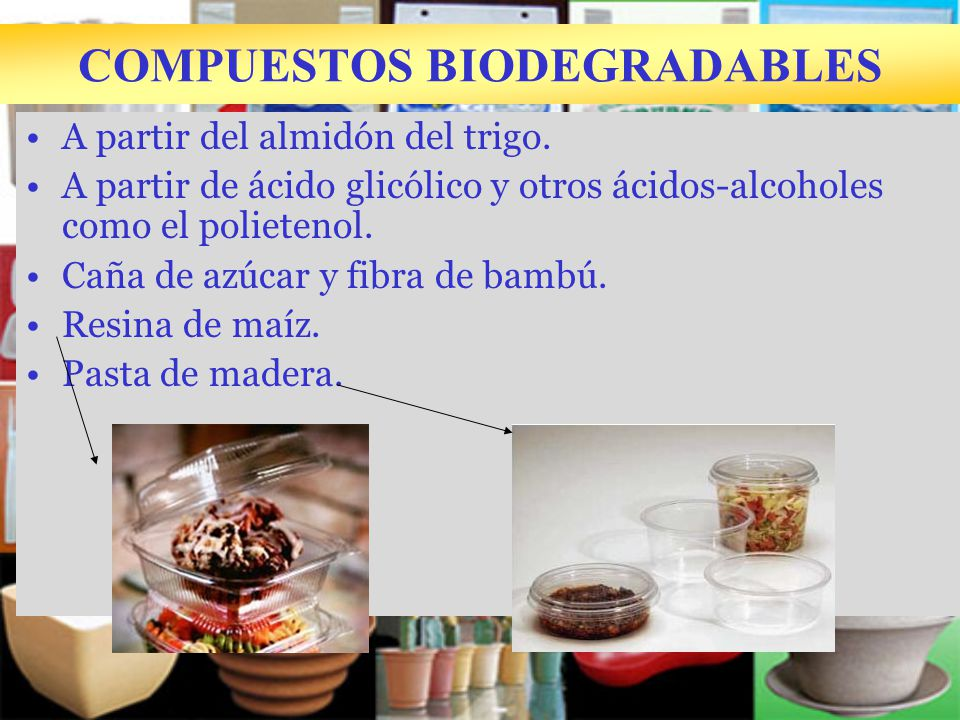 COMPUESTOS BIODEGRADABLES