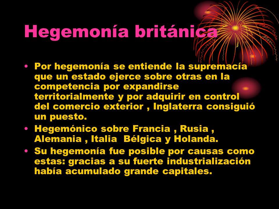 Hegemonía británica