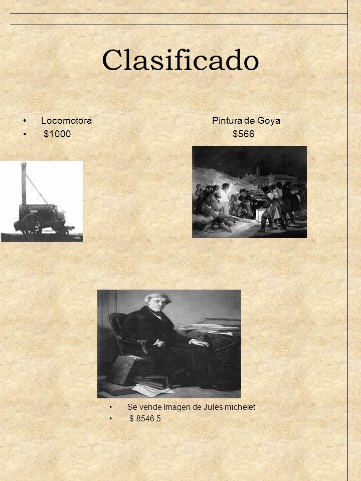 Clasificado Locomotora Pintura de Goya $1000 $566