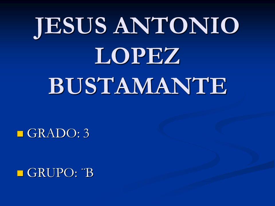 JESUS ANTONIO LOPEZ BUSTAMANTE