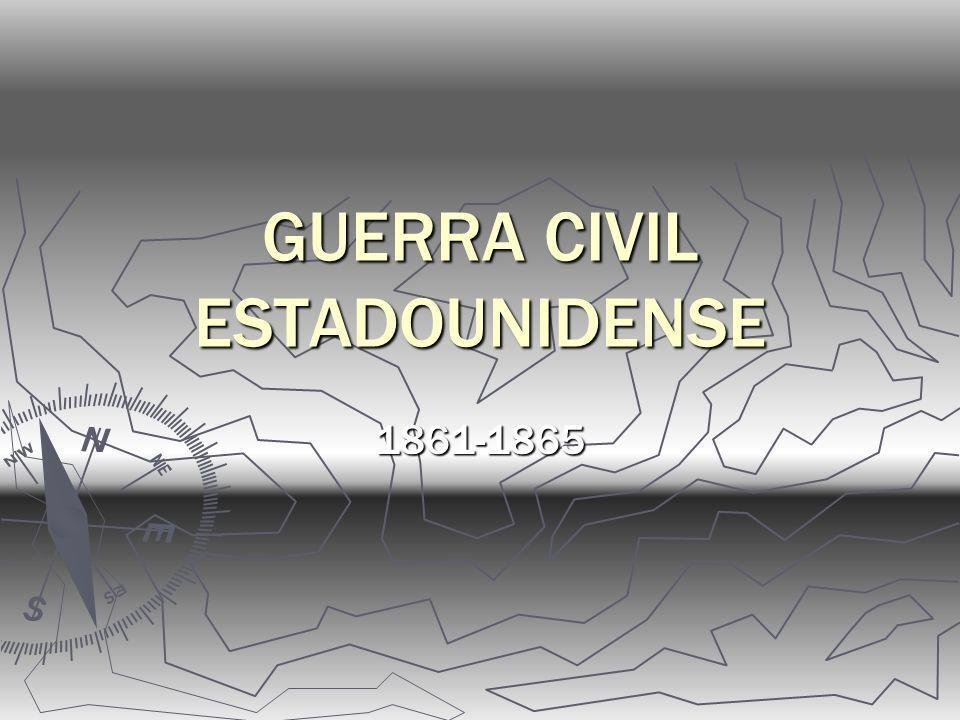 GUERRA CIVIL ESTADOUNIDENSE