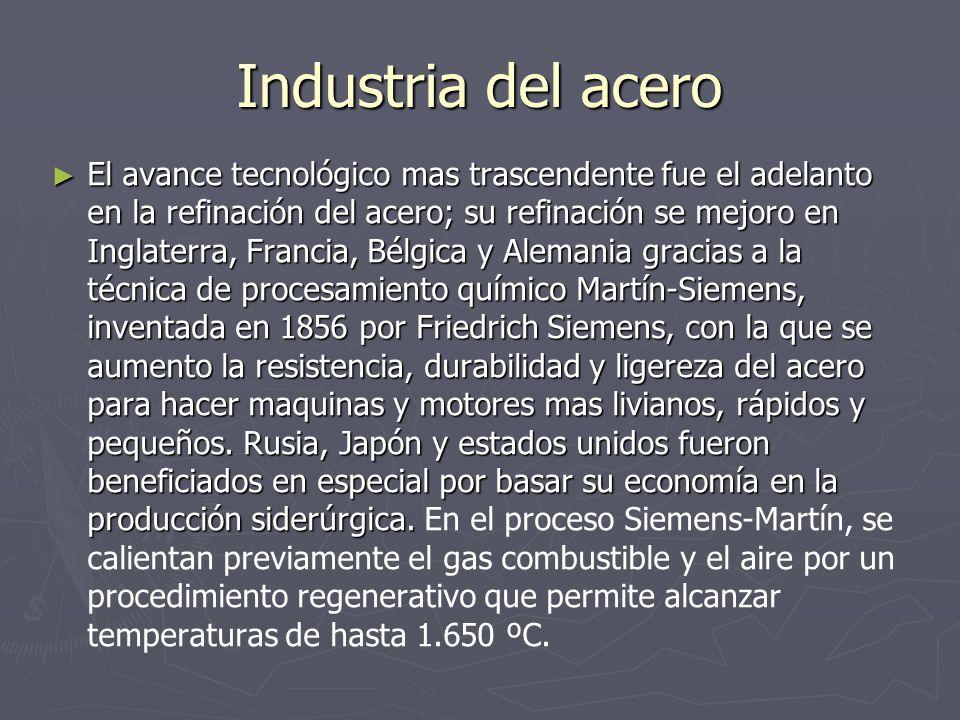 Industria del acero