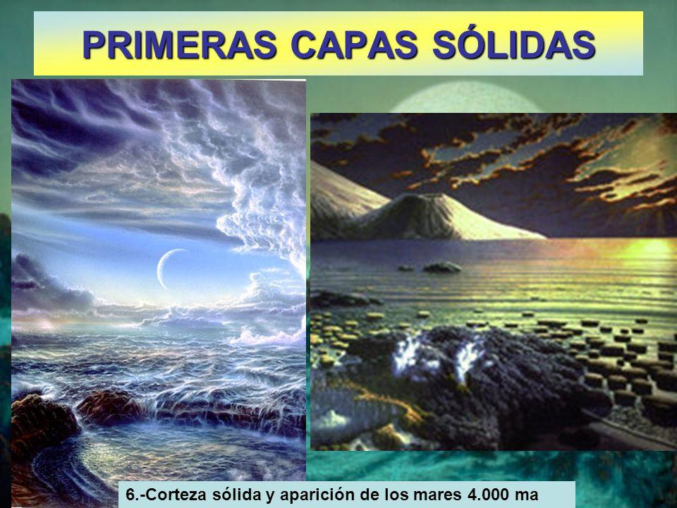 PRIMERAS CAPAS SÓLIDAS