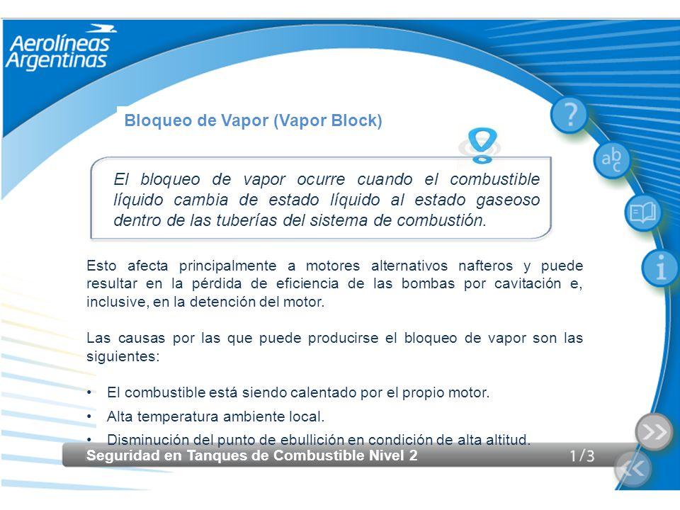 Bloqueo de Vapor (Vapor Block)