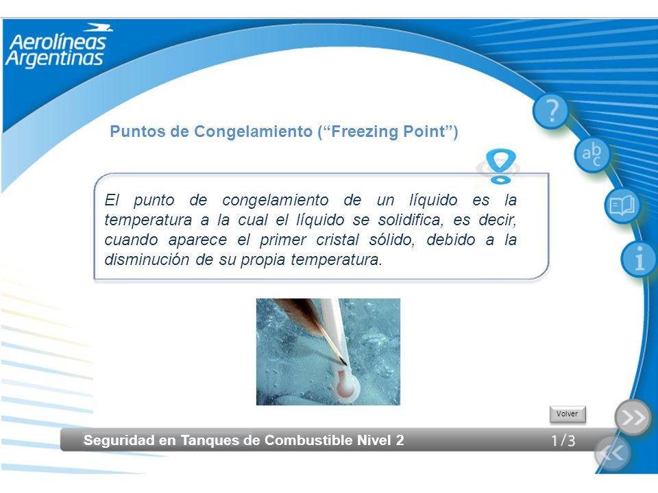 Puntos de Congelamiento ( Freezing Point )