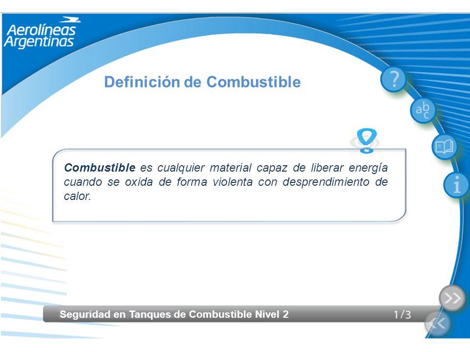 Definición de Combustible
