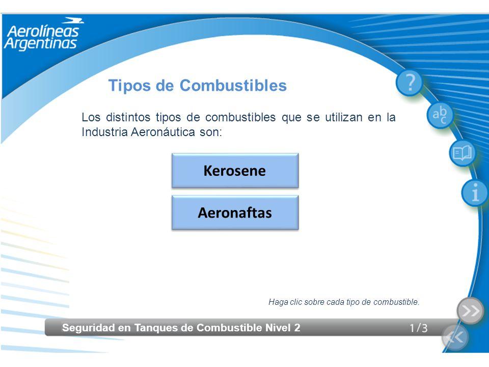 Tipos de Combustibles Kerosene Aeronaftas