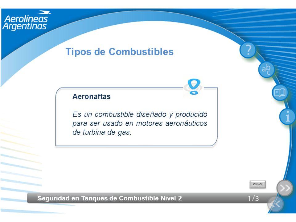 Tipos de Combustibles Aeronaftas