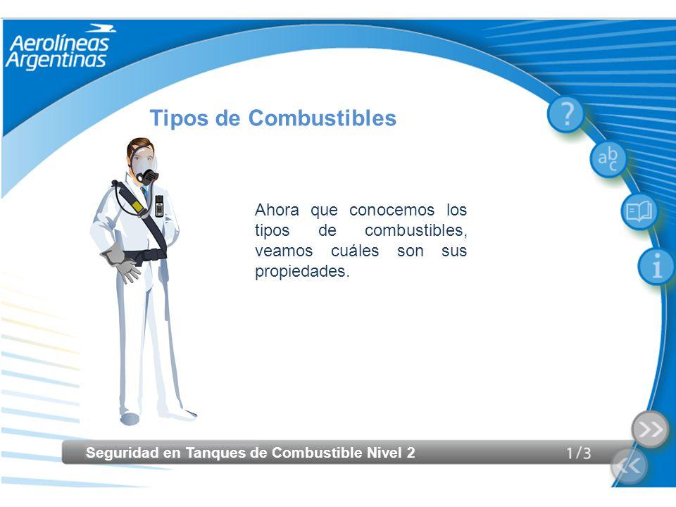 Tipos de CombustiblesAhora que conocemos los tipos de combustibles, veamos cuáles son sus propiedades.