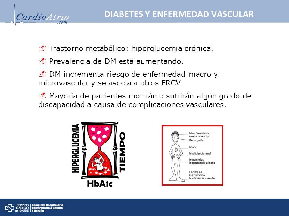 DIABETES Y ENFERMEDAD VASCULAR