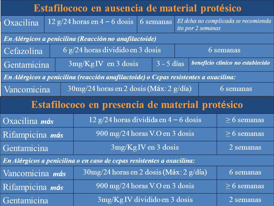 Estafilococo en ausencia de material protésico