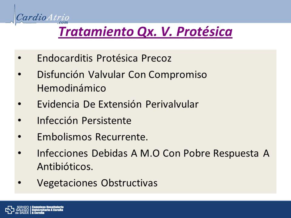 Tratamiento Qx. V. Protésica
