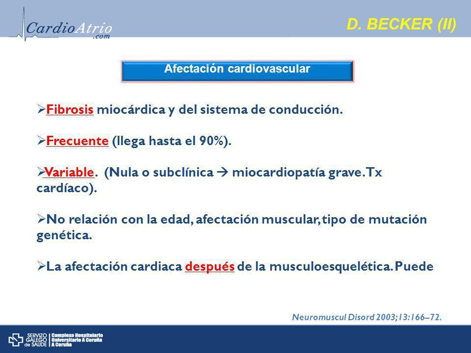 Afectación cardiovascular