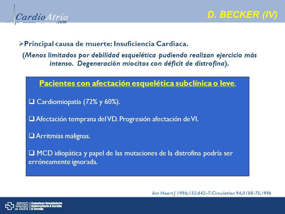 Pacientes con afectación esquelética subclínica o leve.