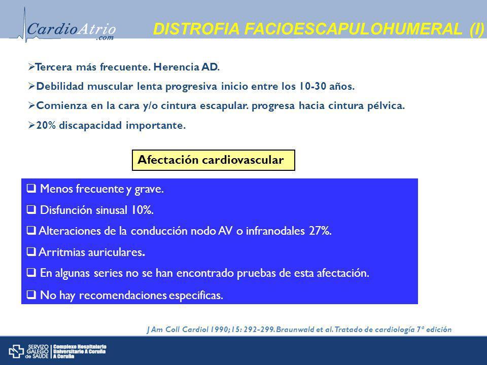 DISTROFIA FACIOESCAPULOHUMERAL (I)