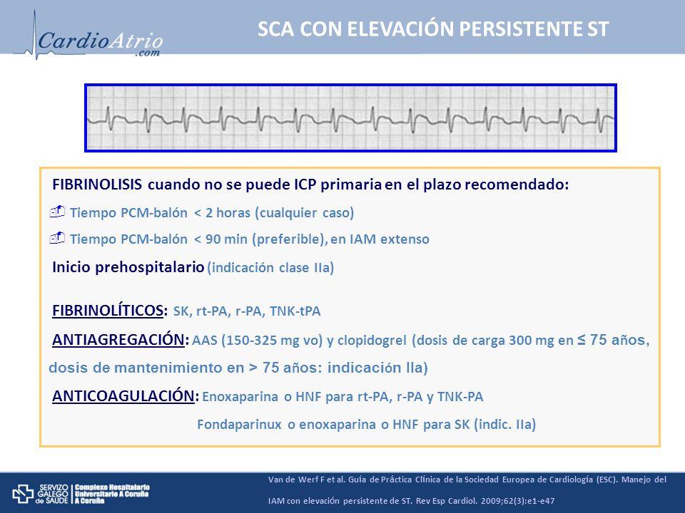 SCA CON ELEVACIÓN PERSISTENTE ST