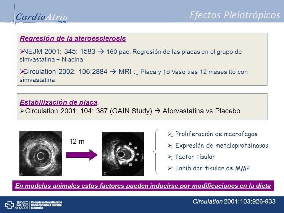 Efectos Pleiotrópicos