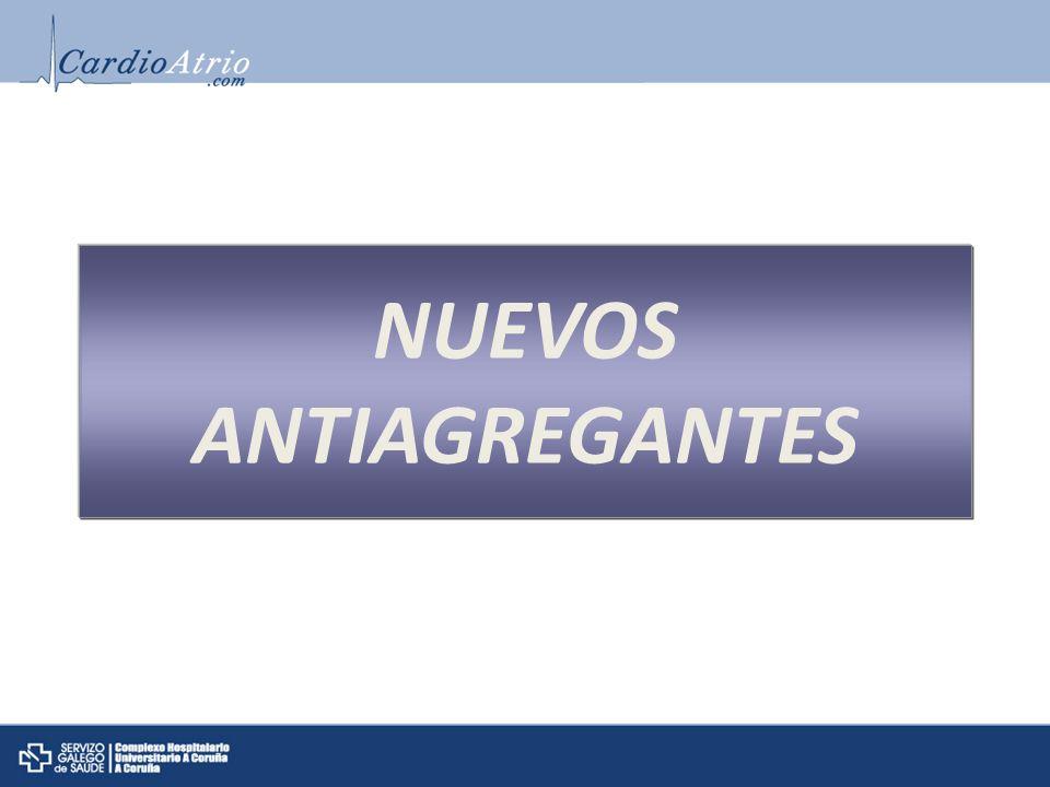 NUEVOS ANTIAGREGANTES