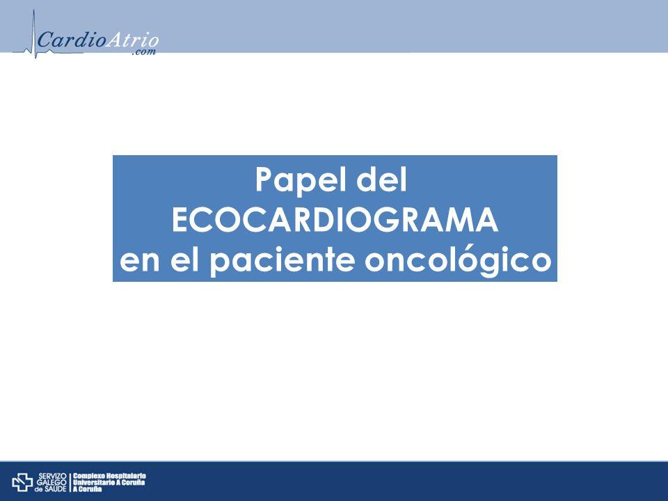 en el paciente oncológico