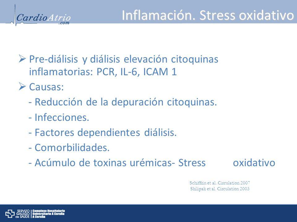 Inflamación. Stress oxidativo