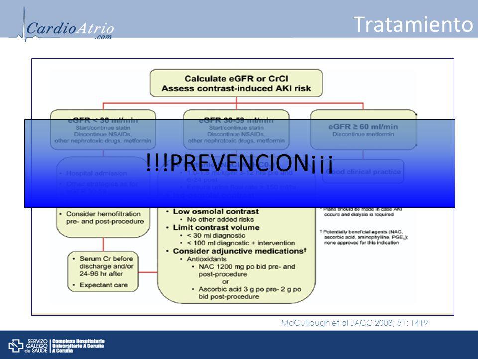 !!!PREVENCION¡¡¡ Tratamiento