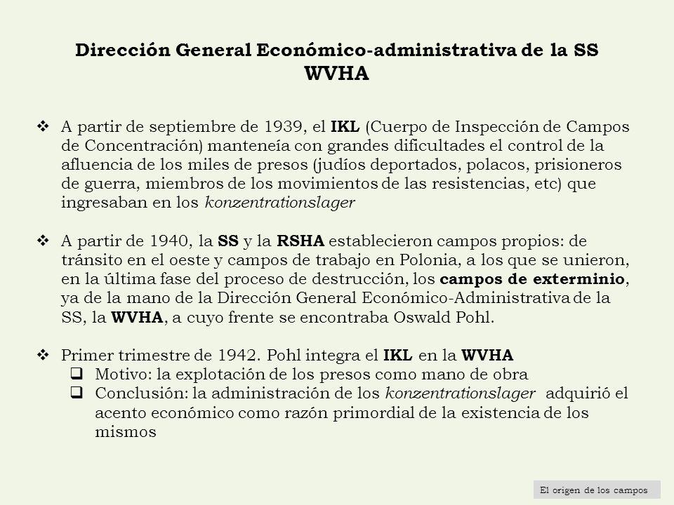 Dirección General Económico-administrativa de la SS WVHA