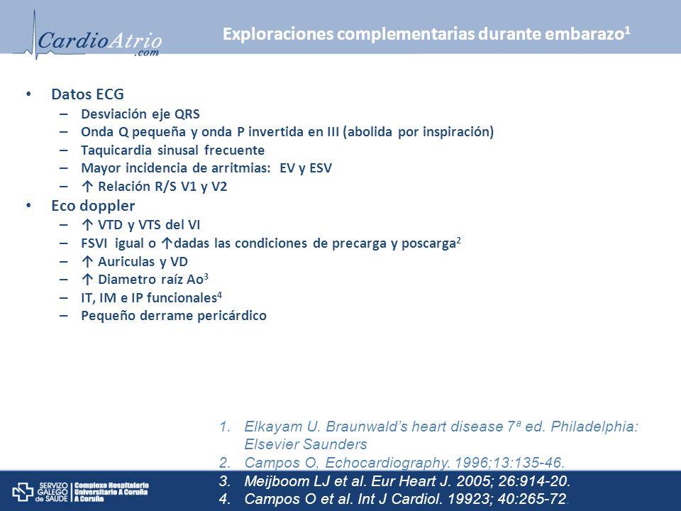 Exploraciones complementarias durante embarazo1