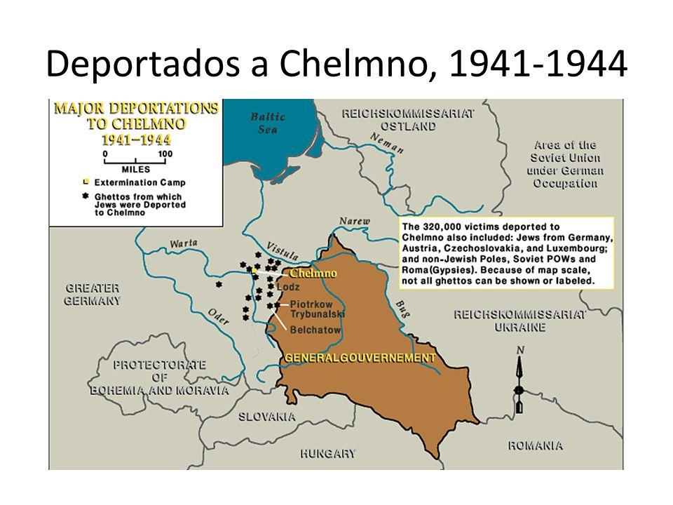Deportados a Chelmno, 1941-1944