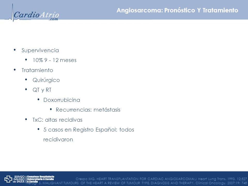 Angiosarcoma: Pronóstico Y Tratamiento