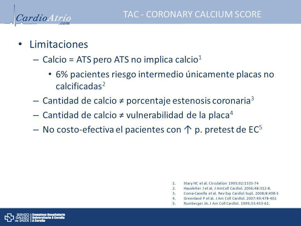 TAC - CORONARY CALCIUM SCORE