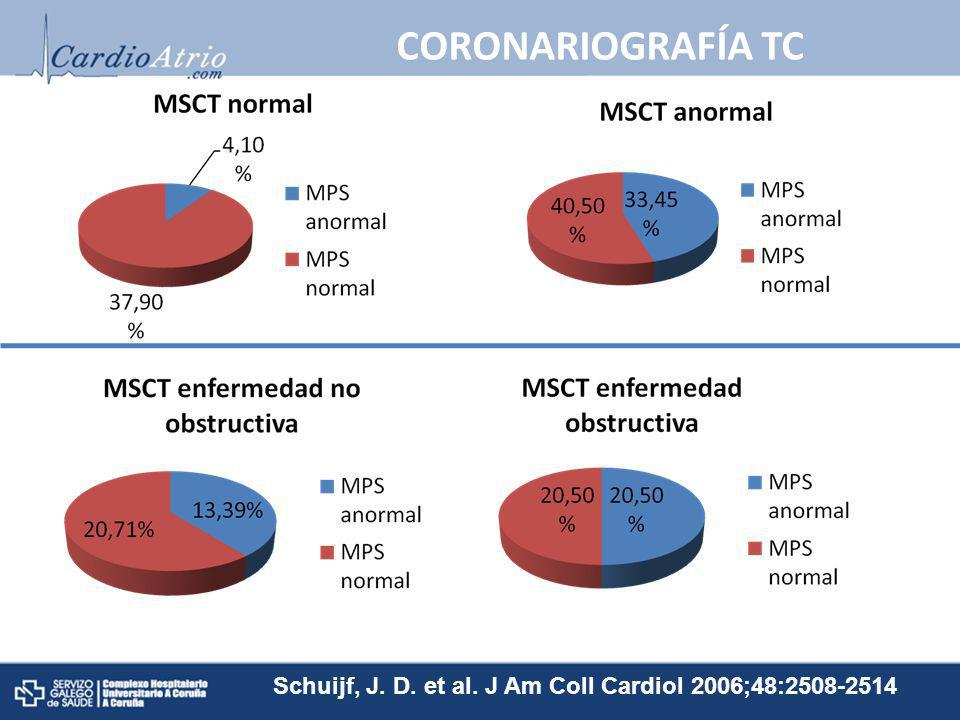 Schuijf, J. D. et al. J Am Coll Cardiol 2006;48:2508-2514