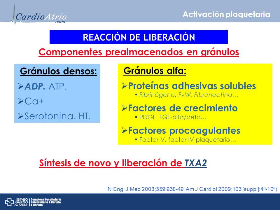 REACCIÓN DE LIBERACIÓN