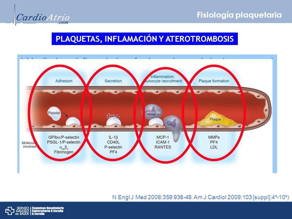 PLAQUETAS, INFLAMACIÓN Y ATEROTROMBOSIS
