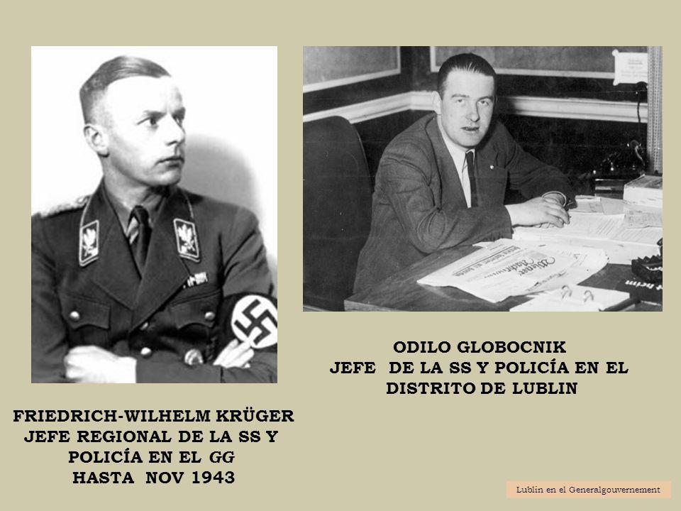 JEFE DE LA SS Y POLICÍA EN EL FRIEDRICH-WILHELM KRÜGER