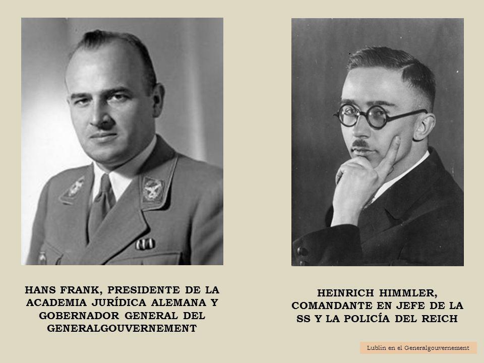 Heinrich Himmler, Comandante en jefe de la SS y la policía Del Reich