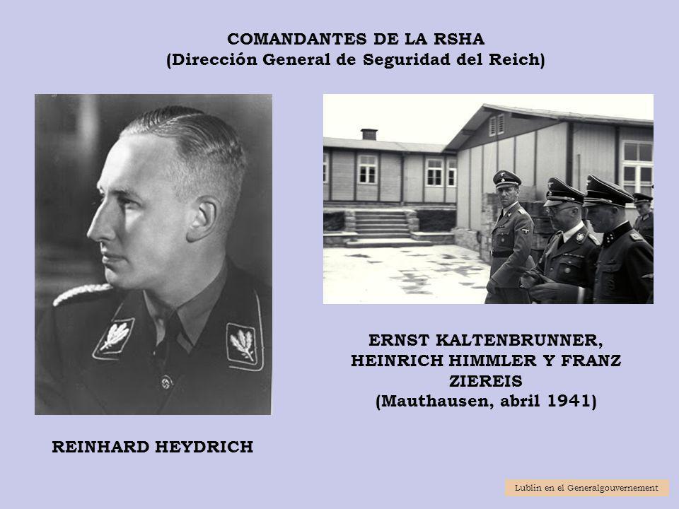 (Dirección General de Seguridad del Reich)