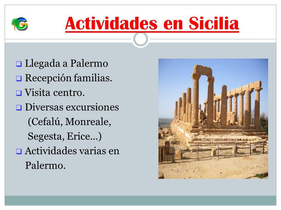 Actividades en Sicilia