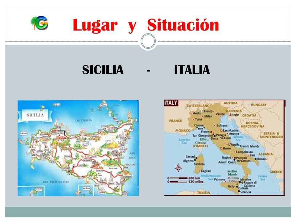 Lugar y Situación SICILIA - ITALIA