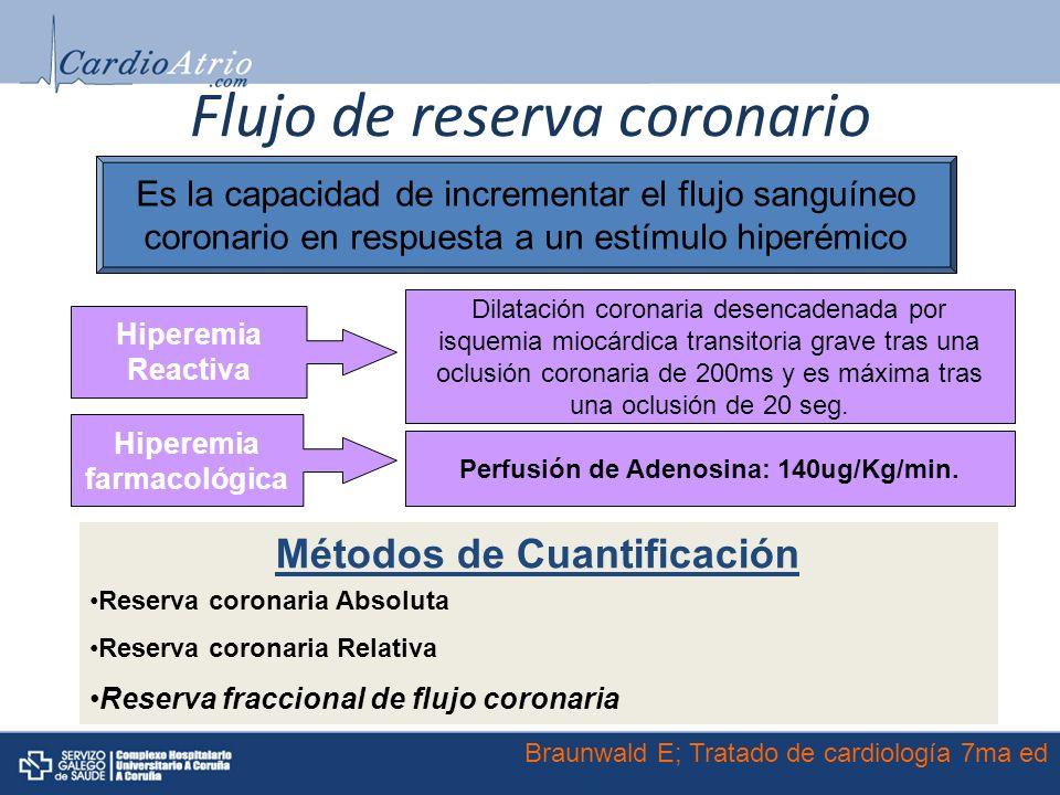 Flujo de reserva coronario