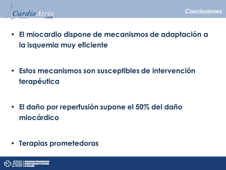 Estos mecanismos son susceptibles de intervención terapéutica