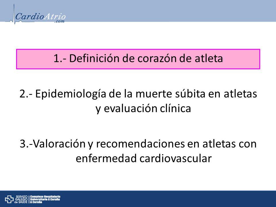 1.- Definición de corazón de atleta