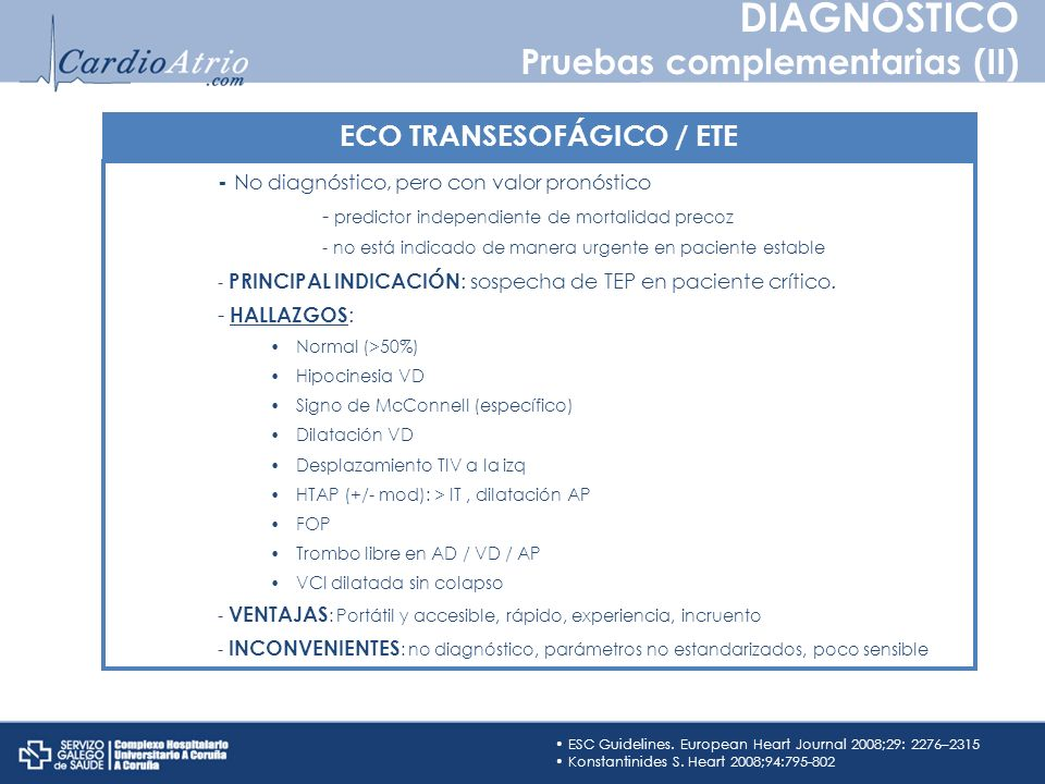 ECO TRANSESOFÁGICO / ETE