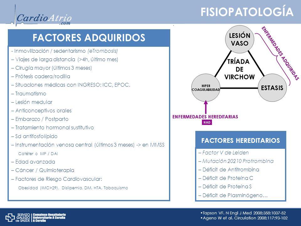 FACTORES HEREDITARIOS